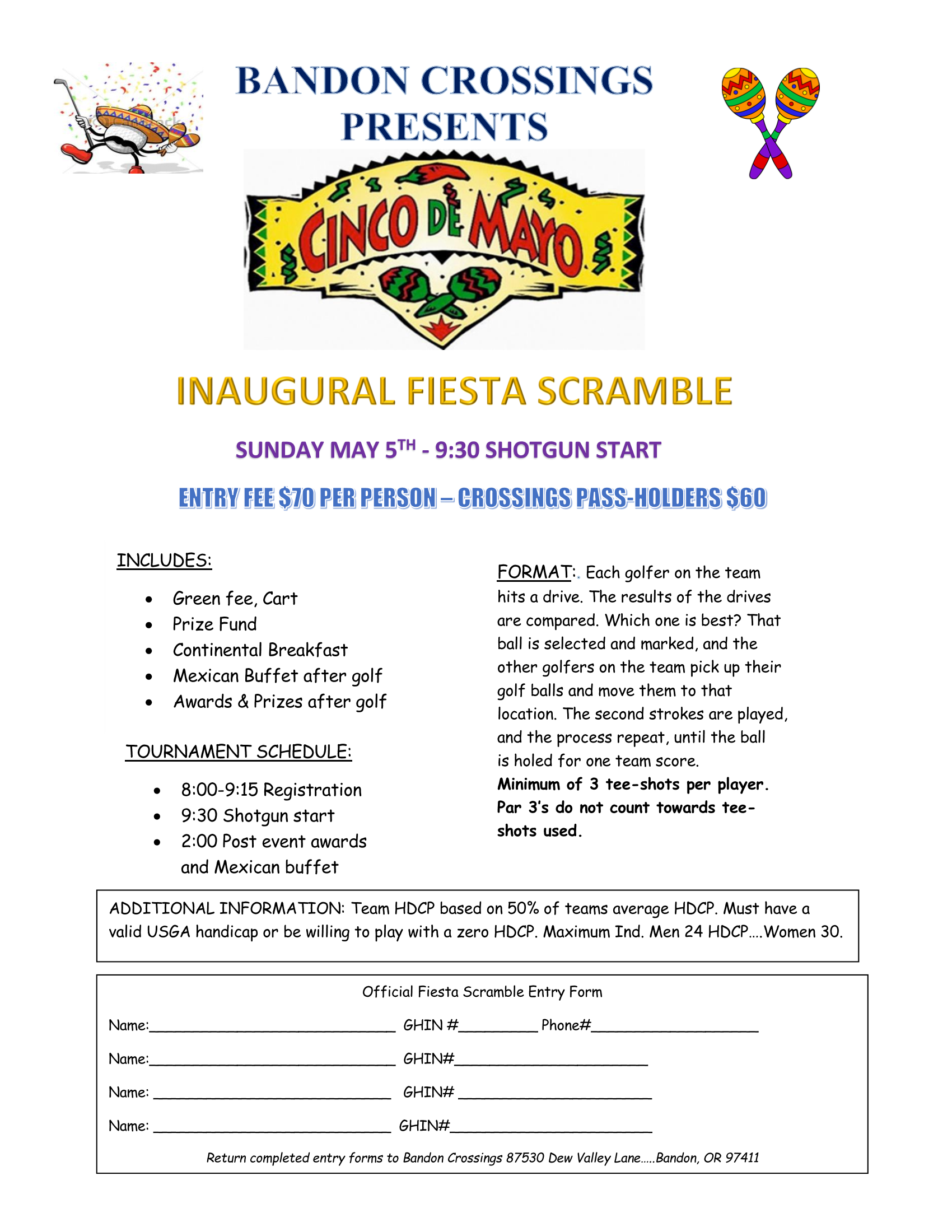Cinco De Mayo Flyer Page 1