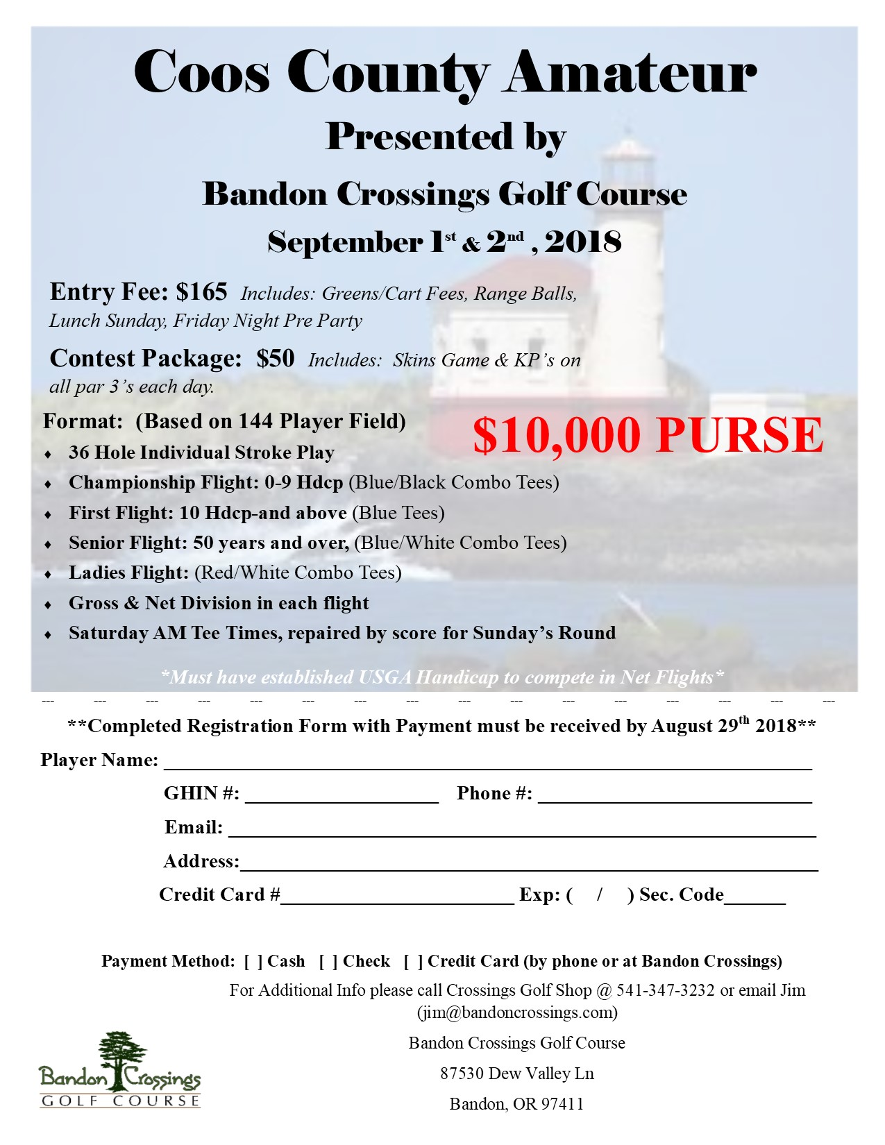 Coos County Amateur Flyer 1