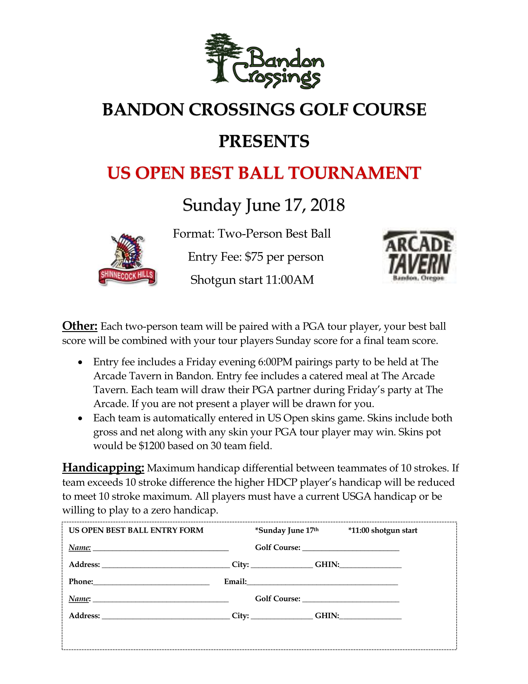 Us Open Best ball flyer 2018 revised Page 1