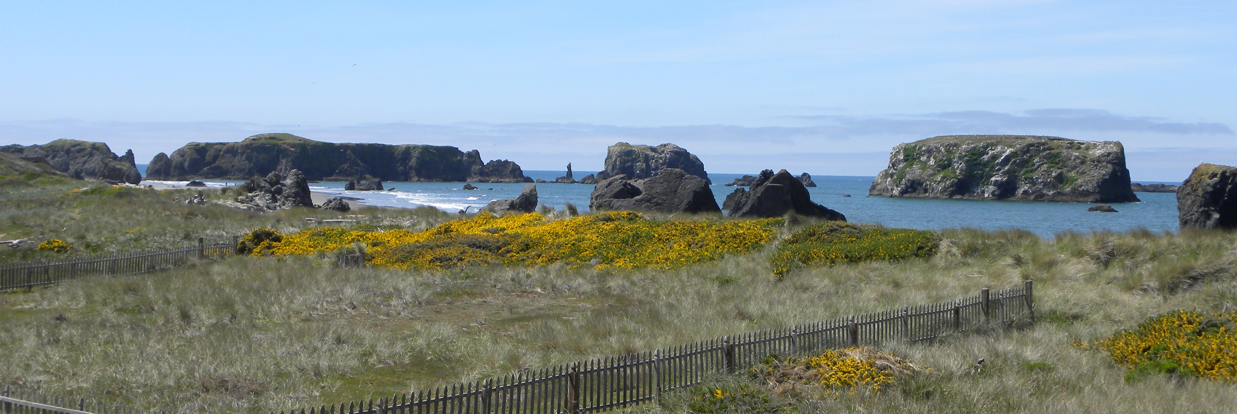 The Dunes House at Bandon, right by the ocean